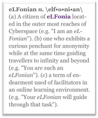 elfonian definition